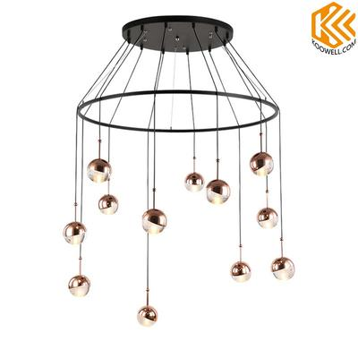 KB001 Modern Steel Pendant Light for Dining room and Cafe