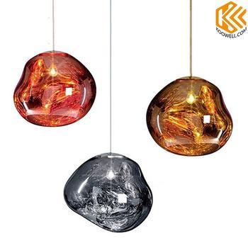KA001 Modern Lava Glass Pendant Lights for Cafe,Restaurant and Living Room
