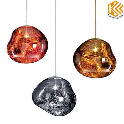 KA001 Modern Lava Glass Pendant Lights for Cafe,Restaurant and Living Room