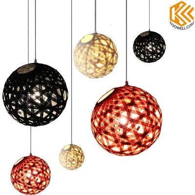 KE001 Creative Ball Fabric Pendant Light for Dining room and Living room