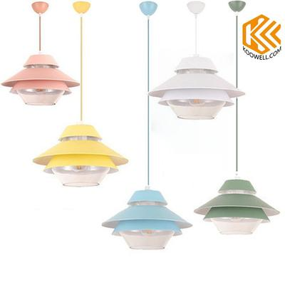 KC001 Macarons Modern Aluminum Pendant Light for Living room and Dining room