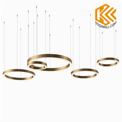 KB014 Modern Industrial Circle Steel Pendant Light for Dinning room and Cafe