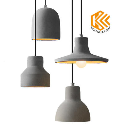 KD003 Industrial Vintage Cement Pendant Lamp for Restaurant,Cafe and Bar