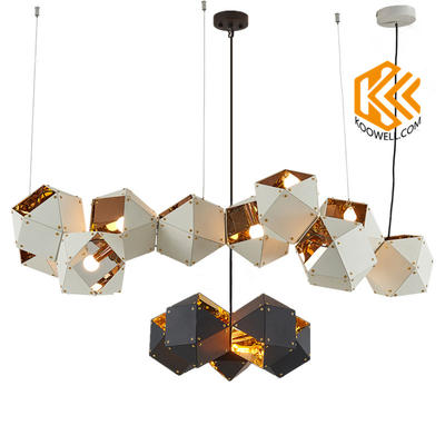 KB029 Creative Modern Industrial DNA Steel Pendant Light for Dining room and Cafe