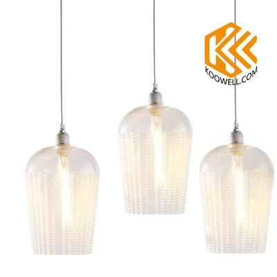 Ka021 Modern Unique Glass Pendant Lights For Dining Room and Cafe